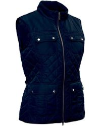 Abacus | Holmen Quilted Gilet | Lyst