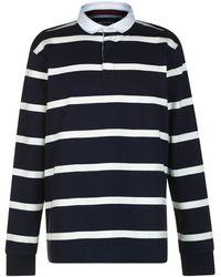 Howick Hockney Stripe Rugby - Blue
