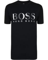 BOSS by Hugo Boss Uv Protection T Shirt - Black
