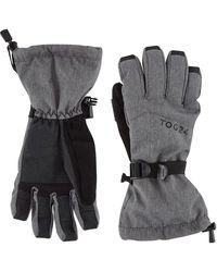 Tog 24 Dark Grey Marl Lockton Waterproof Ski Gloves
