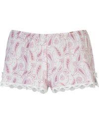 DORINA Paisley Pyjama Shorts - Pink