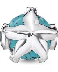 Thomas Sabo - Turquoise Starfish Karma Bead - Lyst