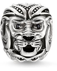 Thomas Sabo - Lion`s Head Karma Bead - Lyst