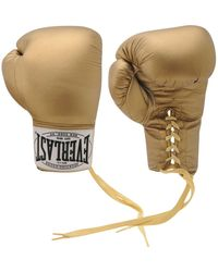 Everlast Autograph Boxing Gloves - Metallic