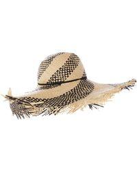 Seafolly - Shady Lady Wide Brim Fedora - Lyst