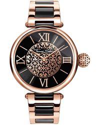 Thomas Sabo Karma Arabesque Rosé Women`s Watch - Metallic