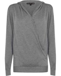 Biba Cashmere Wrap Ld11 - Grey