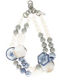 Weekend by Maxmara - Multi Shape Double Necklace - Lyst
