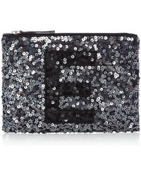 Label Lab - Initial Pouch E - Lyst