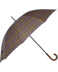 Barbour Tartan Golf Umbrella - Multicolour