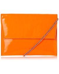 Dune - Baili Envelope Clutch Bag - Lyst