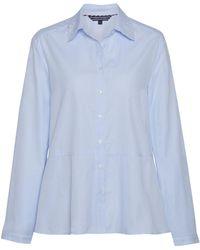 Tommy Hilfiger Haven A Line Oxford Shirt - Blue