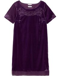 White Stuff Empress Dress - Purple