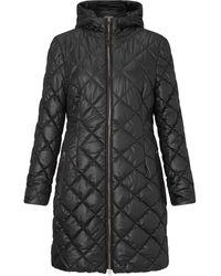James Lakeland Quilted Puffa Coat - Black