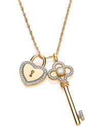 Bouton - Padlock & Key Pendant - Lyst