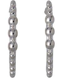 Pilgrim - Bluebell Silver Plated Earrings - Lyst