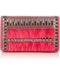 Matthew Williamson | Evening Pink Clutch Bag | Lyst