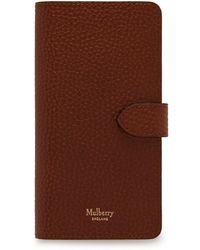 Mulberry Iphone X/xs Cover - Brown