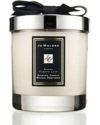 Jo Malone Green Tomato Leaf Home Candle - Black