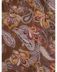 Ruby Rocks - 70s Style Paisley Print Scarf - Lyst