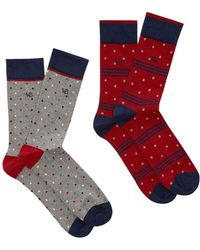 White Stuff | Men's Peter Smart Sock 2 Pack | Lyst