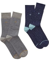 White Stuff | Men's Classic Stitch 2 Pack Socks | Lyst