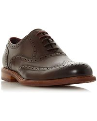 Dune - Pollodium Coloured Sole Brogues - Lyst