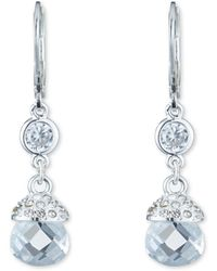 Anne Klein - Single Drop Earrings - Lyst