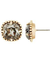 Maiocci Collection - Gold And Cool Grey Earrings - Lyst
