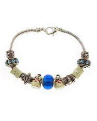 Indulgence Jewellery - Indulgence Christmas Charm Bracelet - Lyst