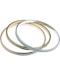 Indulgence Jewellery - Indulgence Triple 3-tone Bangle Set - Lyst