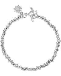 Dower & Hall - Nomad Sterling Silver Nugget Bracelet - Lyst