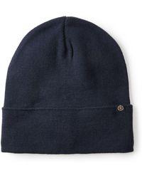 Ted baker Plain Flat Cap in Blue for Men  bfddf88018ac