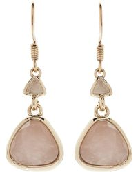Jacques Vert - Semi Precious Cluster Earrings - Lyst