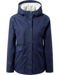 Craghoppers Lindi Waterproof Jacket - Blue