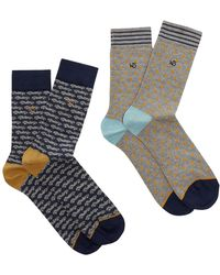White Stuff | Men's Hitch A Ride 2 Pack Socks | Lyst
