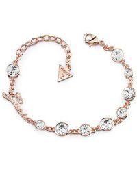 Guess - Crystal Beauty Bracelet - Lyst