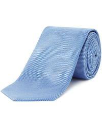 HUGO - Micro Birdseye Tie - Lyst