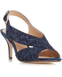 Roland Cartier - Melanie Cross Vamp Sandals - Lyst