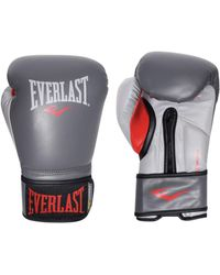 Everlast Powerlock Training Gloves - Grey
