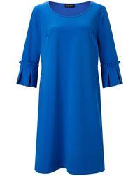 James Lakeland Pleated Cuff Dress - Blue
