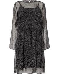 Second Female - Rebecca Long Sleeve Ruffle Knee Length Dress - Lyst