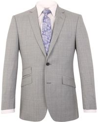 Alexandre Of England - Thornhill Tailored Fit Check Jacket - Lyst