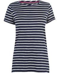 Joules Nessa Striped T-shirt - Blue