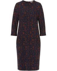 Betty Barclay - Graphic Print Dress - Lyst