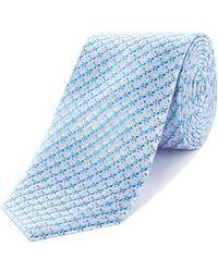 Richard James - Dobby Silk Tie - Lyst