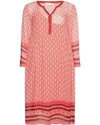 Part Two - Helga Pattenred Tunic Dress - Lyst