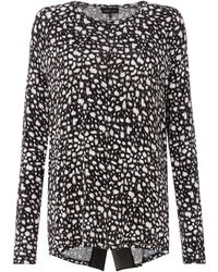 Label Lab - Liddy Cheetah Print Lightweight Knit - Lyst