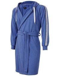 BOSS Paddy Bath Robe - Blue