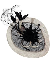 Suzanne Bettley Waffle Band Fascinator - Black